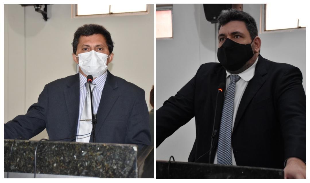 Filomeno Portela e Hugo Victor assumem liderança do governo e da oposição respectivamente na Câmara Municipal de Picos