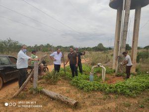 Secretaria de Agricultura viabiliza reparos no sistema de abastecimento de água em comunidades rurais