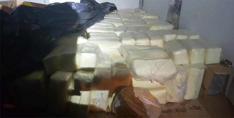 PRF apreende em Picos mais de uma tonelada de queijo avaliada em R$ 16 mil
