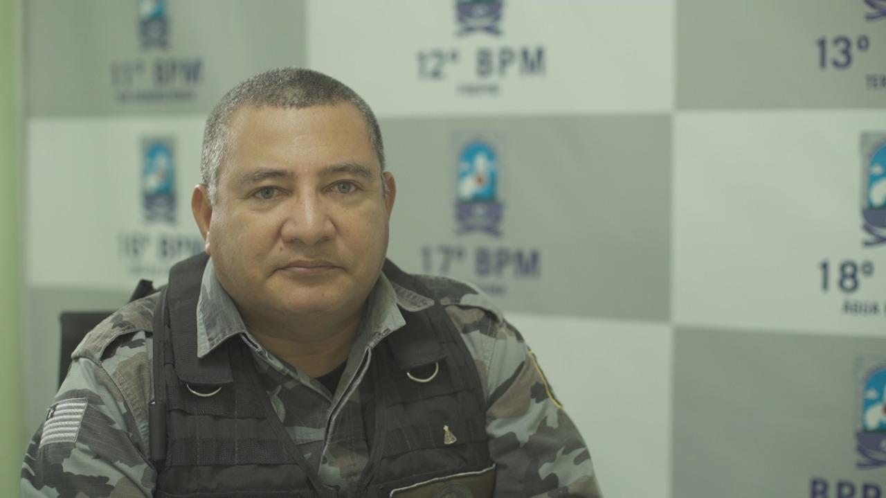 Coronel Marcio Santos assume comando da região de Picos