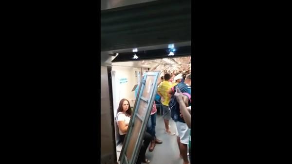 Colisão entre dois trens do Metrô do Recife deixa dezenas de feridos e paralisa Linha Centro