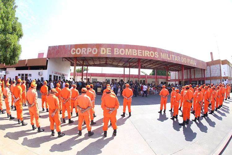 Governador nomeia três novos coronéis para o Corpo de Bombeiros do Piauí