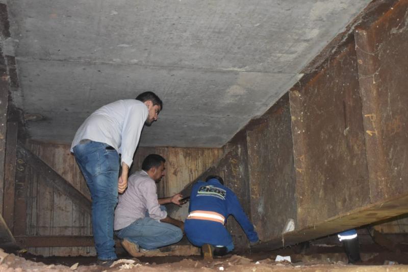 Prefeitura inicia supervisão da ponte que liga o bairro Centro ao bairro Boa Sorte