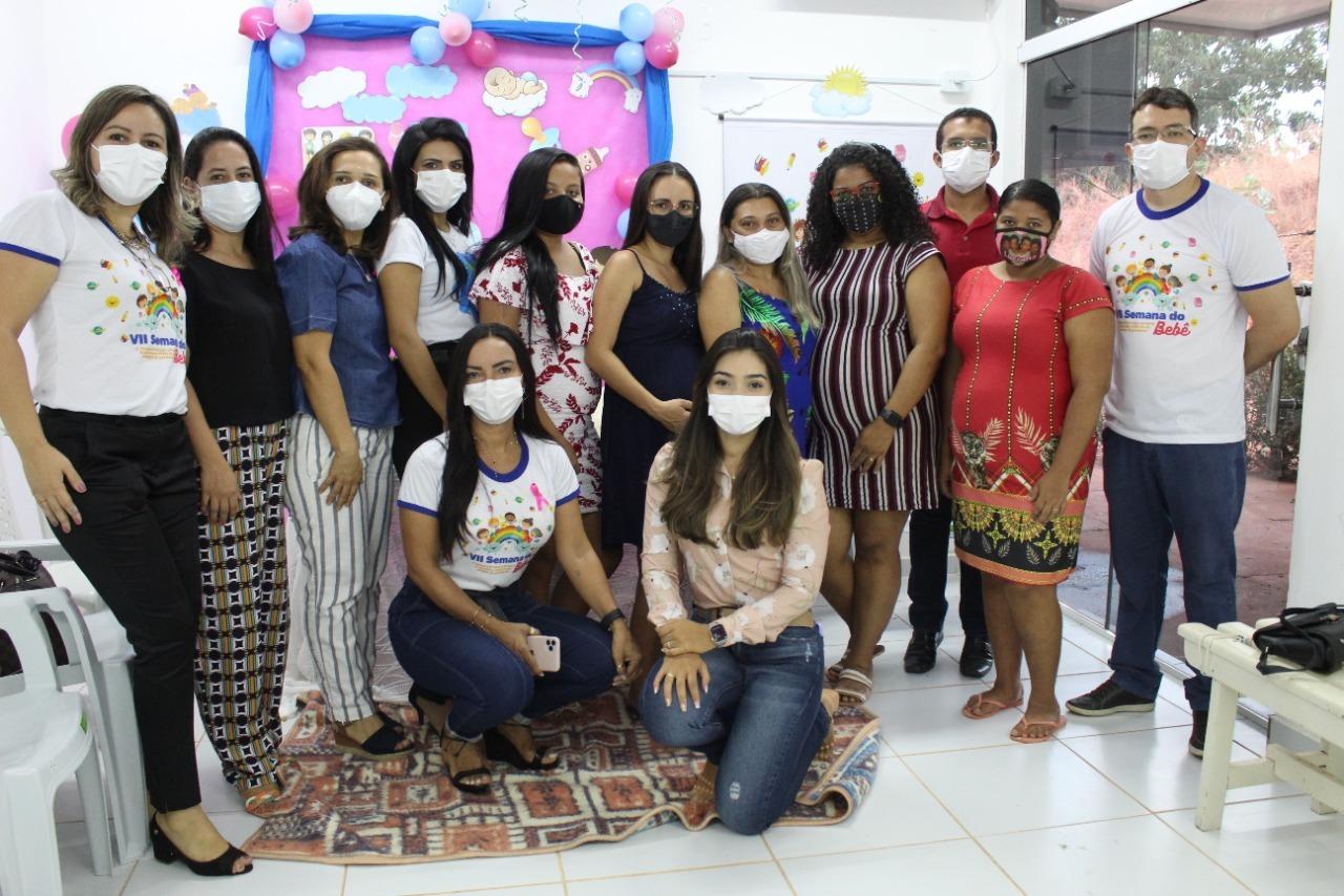 Saúde de Picos promove ação na UBS Samambaia durante a VII Semana do Bebê