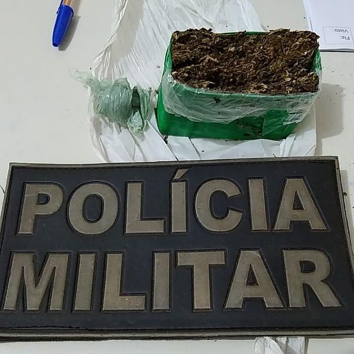 Em Picos, menor de 14 anos é flagrado portando 100 gramas de maconha