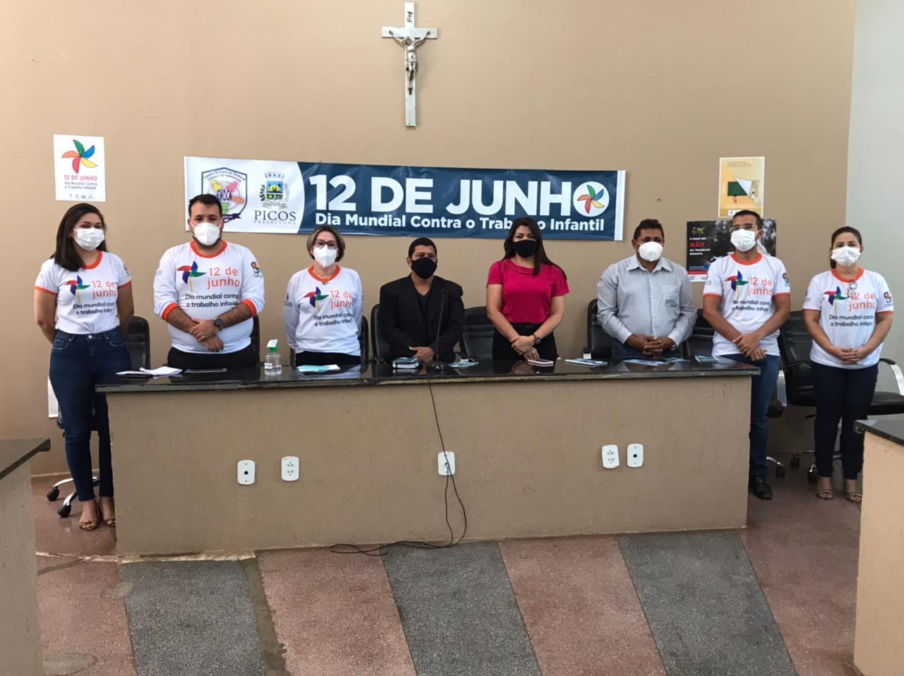 Prefeitura de Picos celebra Dia Mundial de Combate ao Trabalho Infantil
