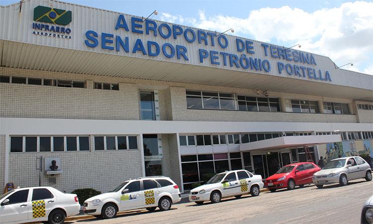 E o Aeroporto de Teresina