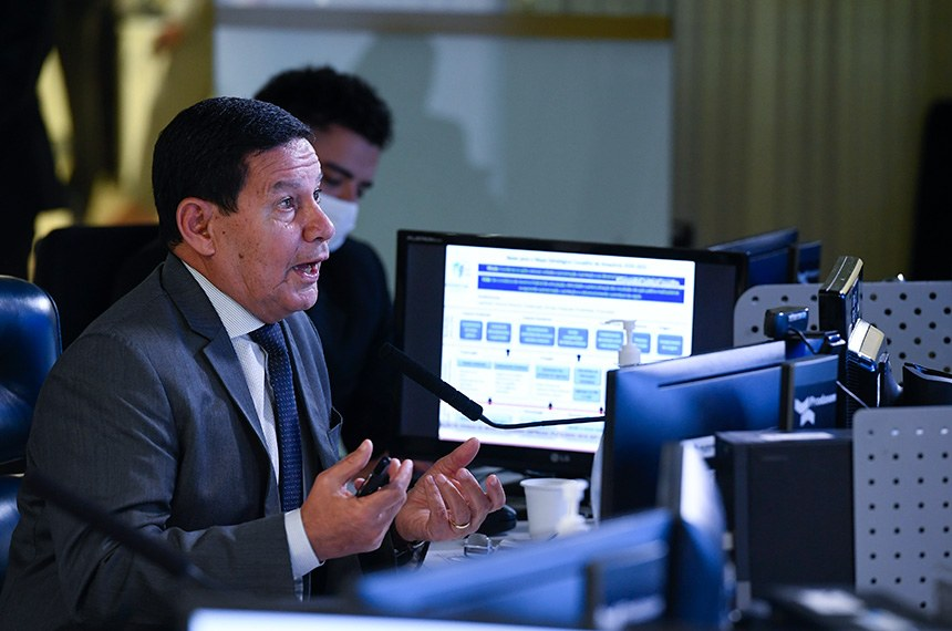 Mourão quer dinheiro do Fundo Amazônia fora dos limites fiscais  Fonte: Agência Senado