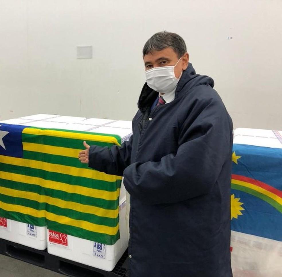 Primeiras doses da CoronaVac vão chegar ainda nesta segunda-feira(18) em Picos