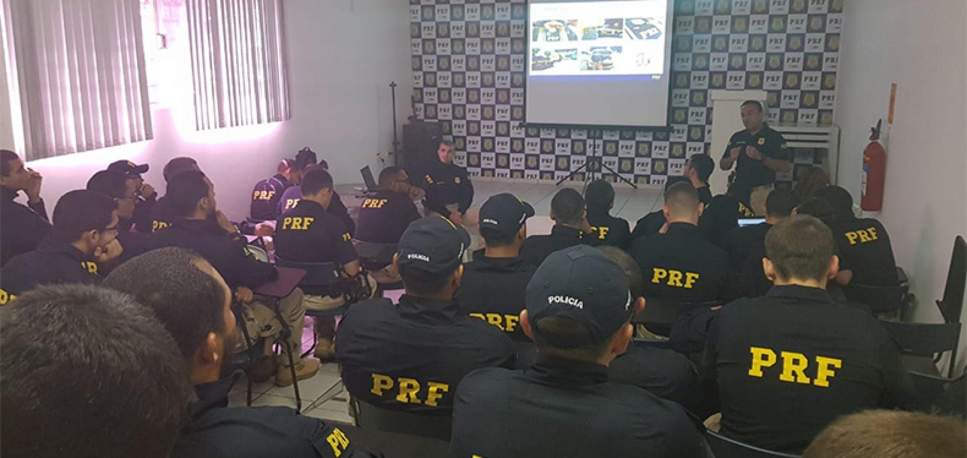 PRF  treina 44 novos policiais para Picos e Floriano