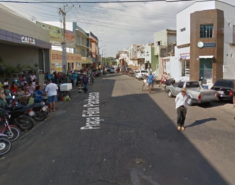 Polícia Militar prende no Centro de Picos acusado de assassinar o amante de sua companheira