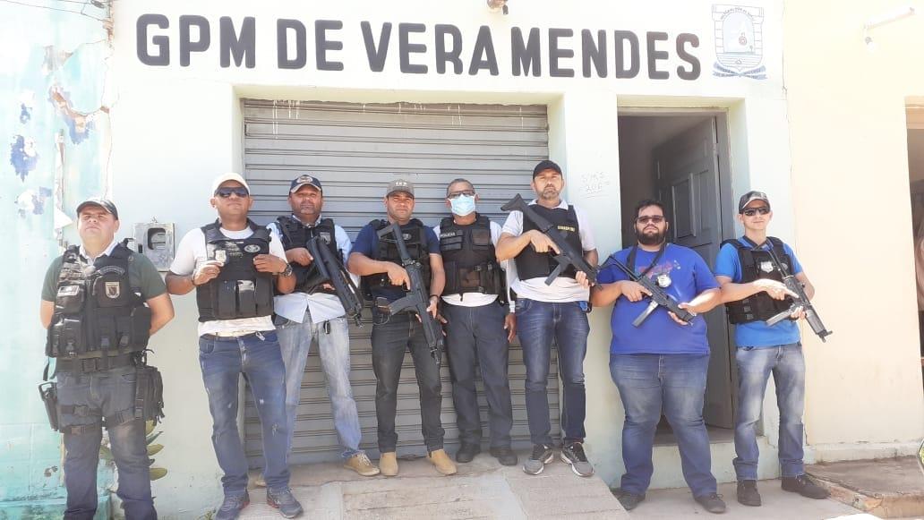 Operação conjunta entre Polícia Militar do Piauí e Polícia Civil do Pernambuco prende homicida em Vera Mendes