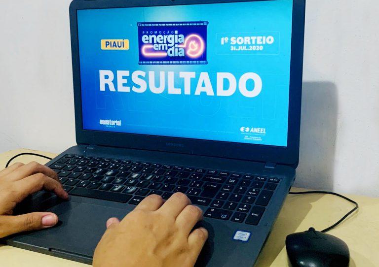 Equatorial Piauí divulga os ganhadores do 1º sorteio da Promoção Energia em Dia