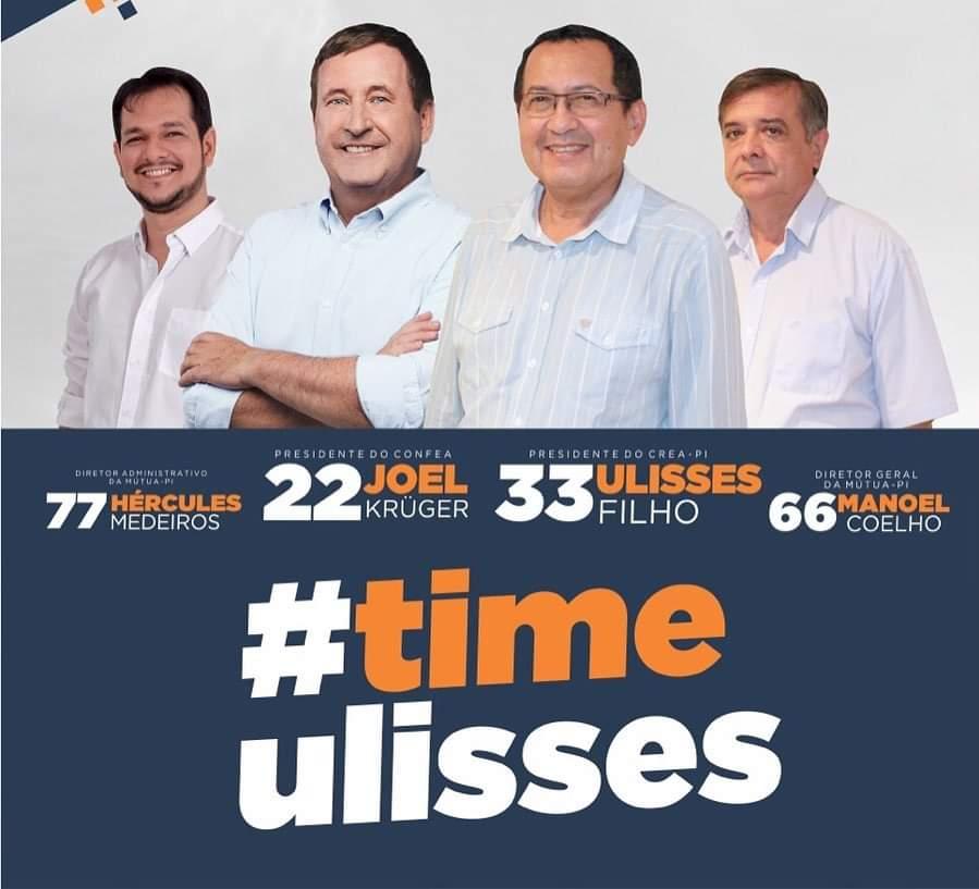 Profissionais da Inspetoria de Picos apoiam Ulisses para presidente do CREA Piaui