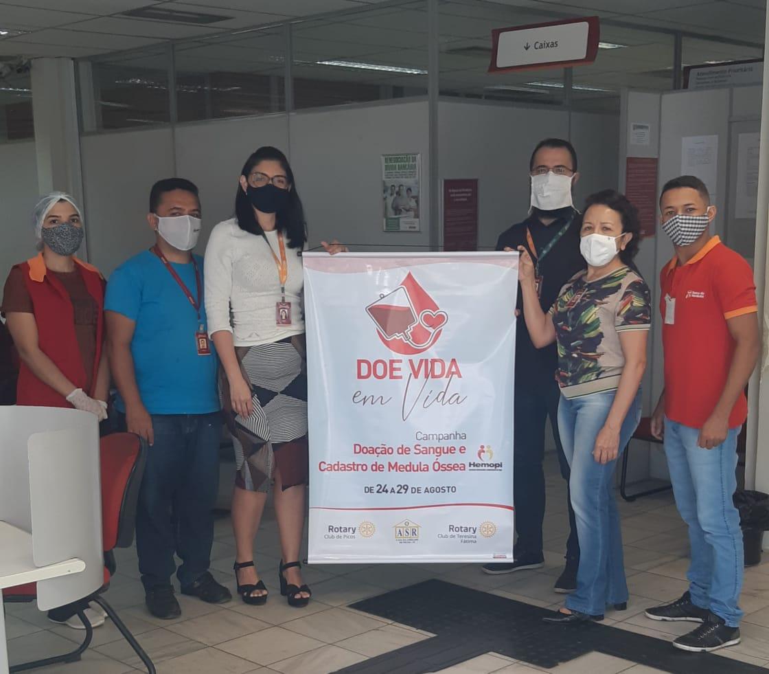 Rotary Club de Picos lança campanha para doaçao de sangue