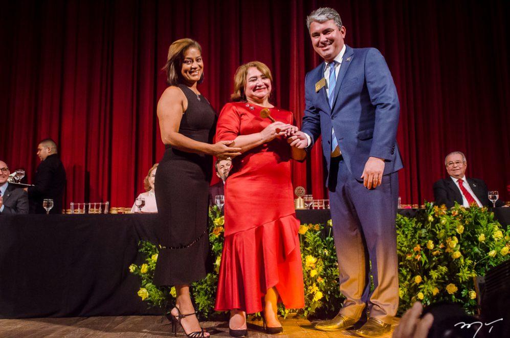 Maria Vital faz visita virtual ao Rotary Clube de Picos