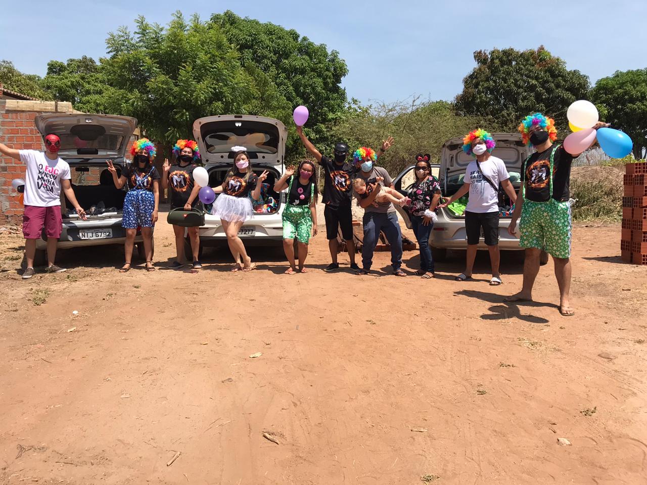 Missão Maranathá realiza campanha 'Criança Feliz' em Picos