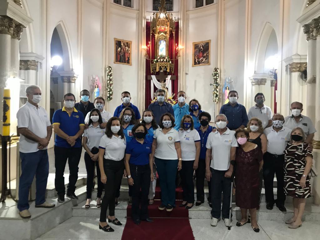 Rotary Club de Picos celebra 45 anos de fundação com Missa em Ação de Graças