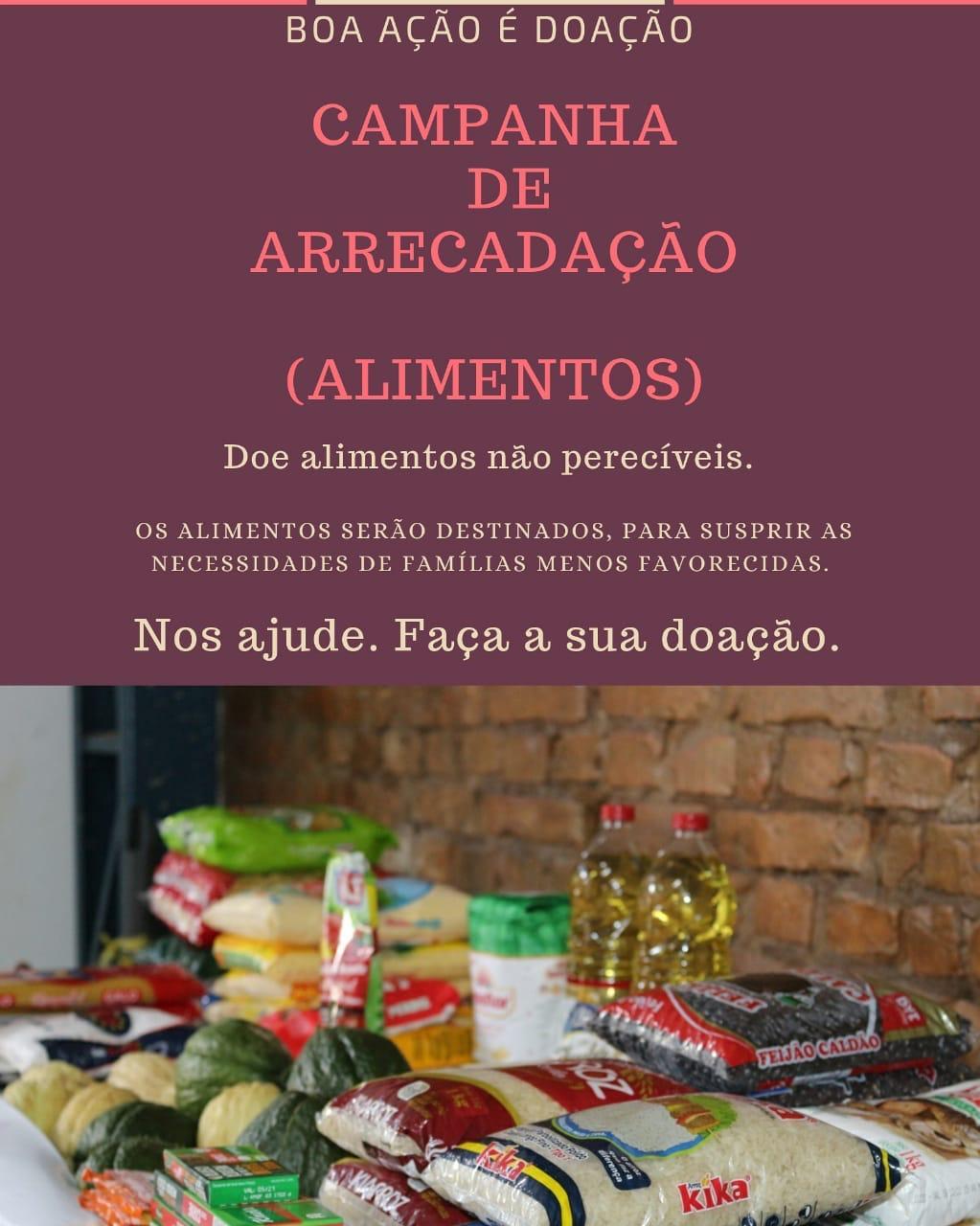 Grupo de amigos promove campanha de arrecadação de alimentos em Picos