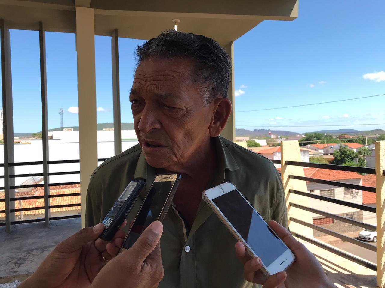 Gil Paraibano diz que não vai interferir na eleição da Mesa Diretora da Câmara Municipal de Picos