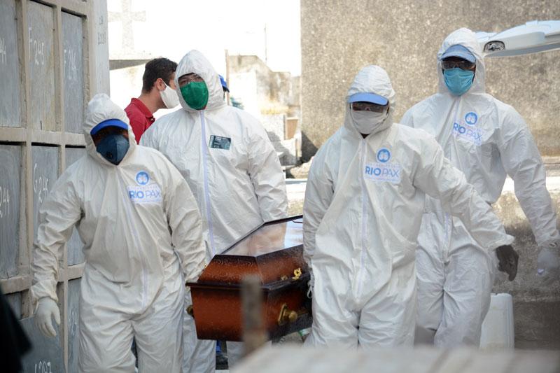 Brasil registra recorde de 26,7 mil novos casos de coronavírus em 24 horas