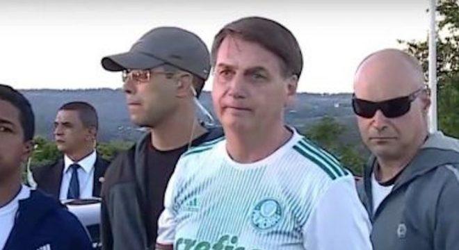 'Brevemente, já sabe onde ele deve estar', diz Bolsonaro sobre Witzel