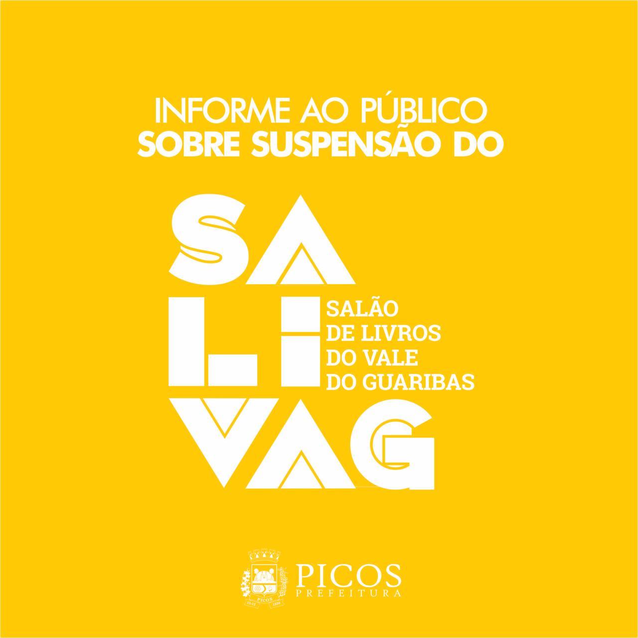 Covid-19: VIII SaLiVaG é suspenso em Picos