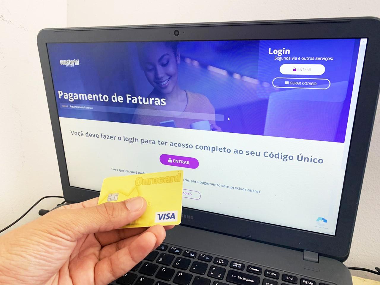 Conta de energia pode ser parcelada em até 12 vezes no cartão de crédito