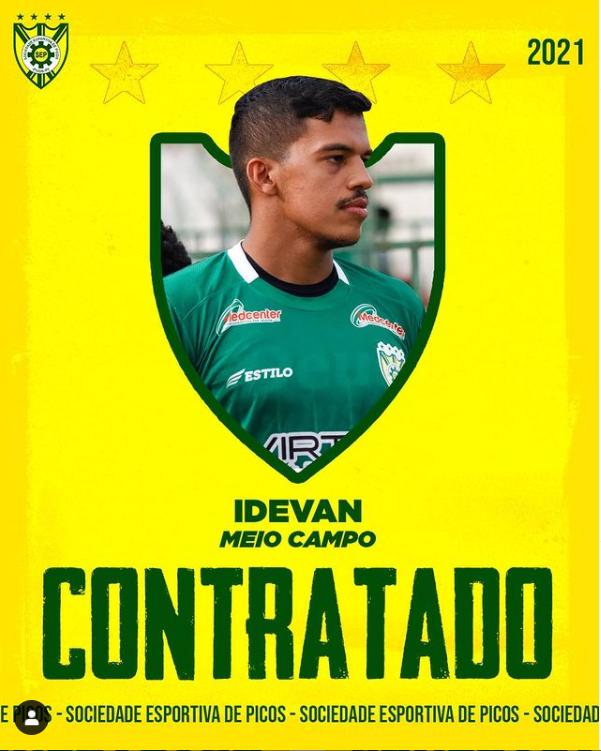 Idevan tem contrato renovado e permanece na SEP para temporada 2021